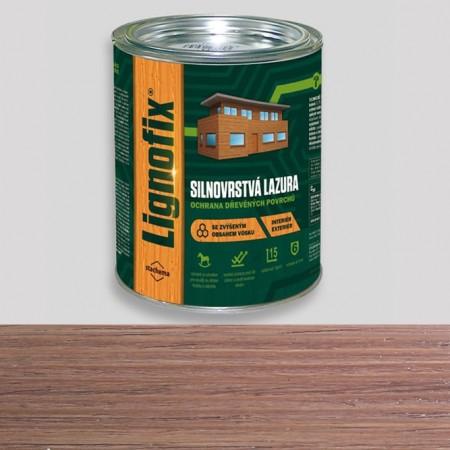 Стійка лазур для дерева Lignofix коричнево-сіра