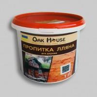 Пропитка для дерева лляна Oak House